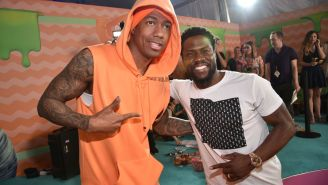 Kevin Hart Plasters Nick Cannon's Phone Number On L.A. Billboard During Hilarious Prank War