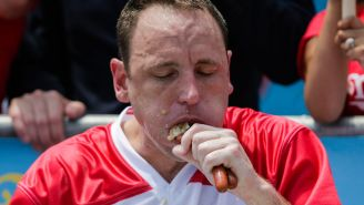 Joey Chestnut Reveals What Happens To His Body When He Devours 76 Hot Dogs: 'It's Hard On The Body'