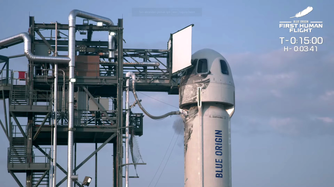 Jeff Bezos Makes Historic Space Flight Sparks Dr Evil Comparisons