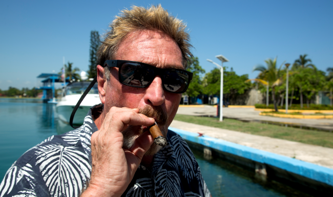 John McAfees Wife Releases His Alleged Suicide Note Claims Conspiracy A Timeline Of His Demise