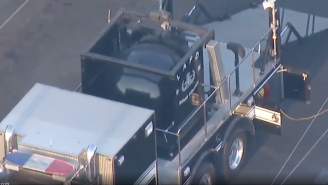 Wild Videos Capture An LAPD Bomb Disposal Truck Exploding After Confiscating Illegal Fireworks