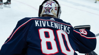 Matiss Kivlenieks' Teammate Reveals The Goalie Sacrificed Himself To Save 50 People From The Firework That Took His Life
