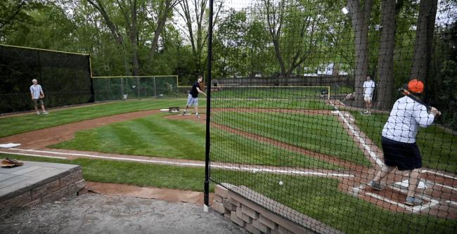 Michigan Man Builds Wiffle Ball Field Of Dreams In His Backyard