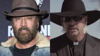 We'll Never Get To See Nicolas Cage Play Joe Exotic After Amazon Announces Some Truly Devastating News
