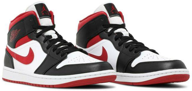Nike Air Jordan 1 Mid Metallic Gym Red