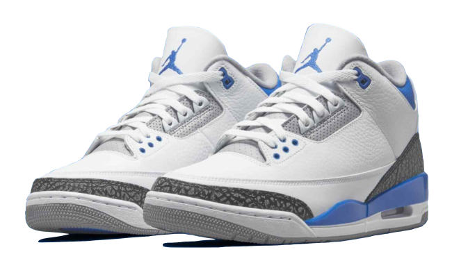 Nike Air Jordan Retro 3 Racer Blue