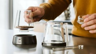 Make The Perfect Cup Of Artisan Coffee With This Glass Pour Over Set