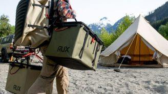 The RUX Collapsible Tote Is Redefining Weatherproof Bags