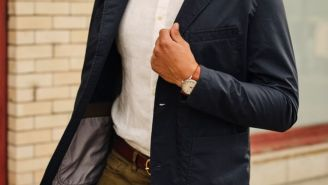Get This Relwen Windbreaker Blazer For A Cool 25% Off