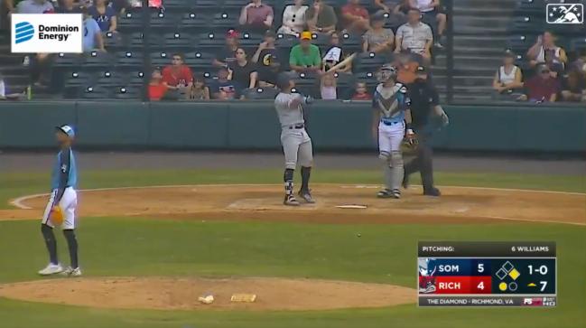Oswaldo Cabrera Yankees bat Flip MiLB