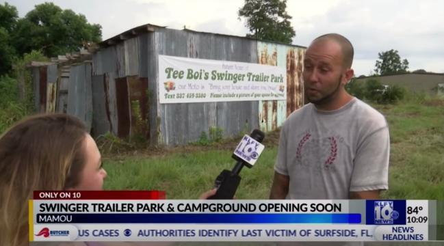 Tee Boi Swingers Trailer Park