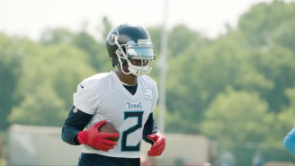 LOOK: Julio Jones Showed Up To Titans Training Camp In Amazing Waffle House Cleats