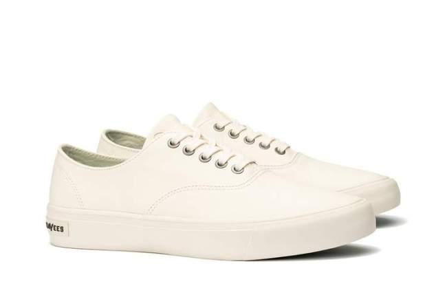 SeaVees Legend Leather White