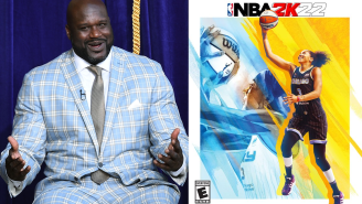 Shaq Had A Comical Reaction To Candace Parker Being Named First Woman On 'NBA 2K' Cover