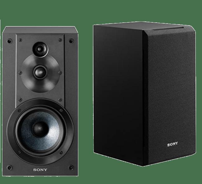 Sony 3-Way 3-Driver Bookshelf Speaker System
