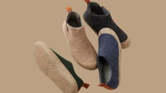 Greys Has The Best Sustainable Outdoor Slipper Made With Recycled Materials