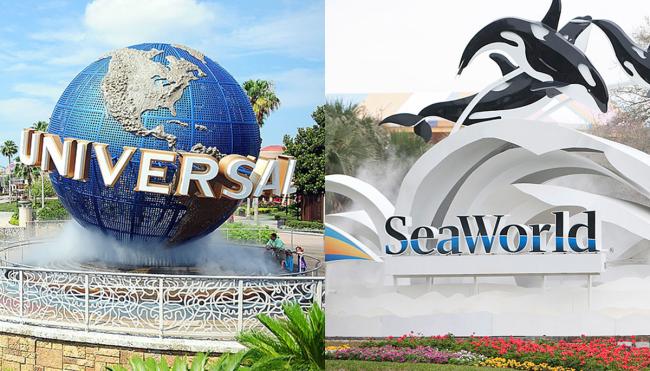Universal Orlando SeaWorld Twitter feud Fireball