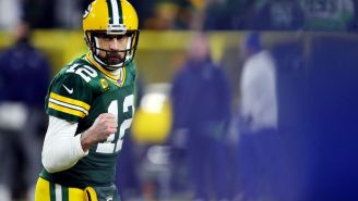 Aaron Rodgers Shows Up To Packers Camp Rocking Absurd Fit, Yet Looks As Ready As Ever To Snatch Souls