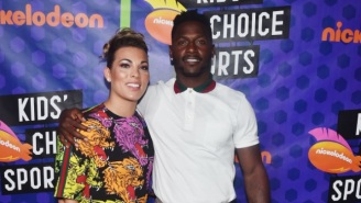 Antonio Brown's Fiancee Chelsie Rips Instagram Model To Shreds Over Comment After Brown Was Photo'd With Another Woman