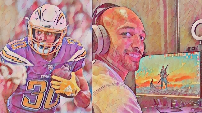 NFL's Austin Ekeler On Making Gaming History, Building Relationships With Fans, And Why He Refuses To Play 'Madden'