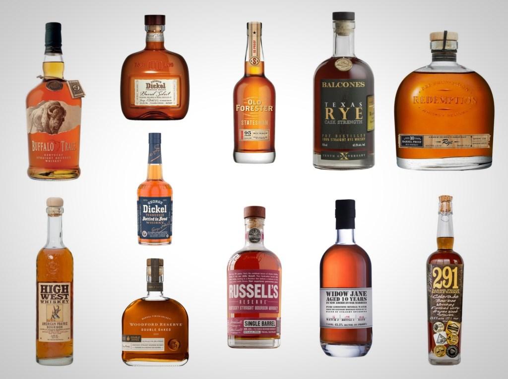 Best Bourbon Best Rye Best American whiskey new releases