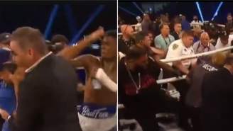Wild Brawl Breaks Out In Ring After Rapper BlueFace's Boxing Debut At BKFC 19