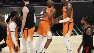 The Best Reactions To Patrick Beverley's Petulant Shove On Chris Paul During Suns Blowout Win