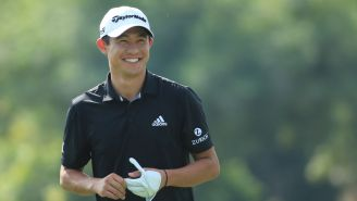 Collin Morikawa Backed Off His Final Tee Shot At The Open Because He Heard 'Farting Noises'