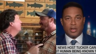 CNN's Don Lemon Defends Tucker Carlson Against Montana Man Who Confronted Him In Public