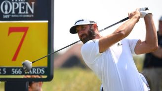 Dustin Johnson Ends The Debate Of Whether It's Called 'The Open' Or 'The British Open'