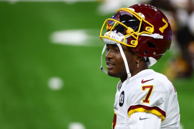 dwayne haskins wife knocks out tooth arrested