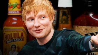 Ed Sheeran Suffers Through The 'Hot Ones' Challenge And Tells Stories About Eric Clapton, Eminem, And Others