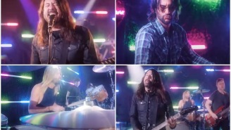 The Foo Fighters Disco Cover Of 'You Should Be Dancing' By The Bee Gees Is Perfect