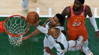 Video Clip Of LeBron James Mocking Giannis' Scoring Ability Resurfaces As The Greek Freak Is Posting Historic Finals Numbers