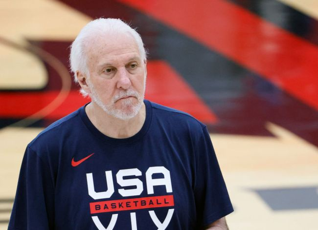 gregg popovich exchange with reporter
