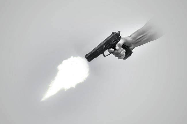 gunshot over foot race houston