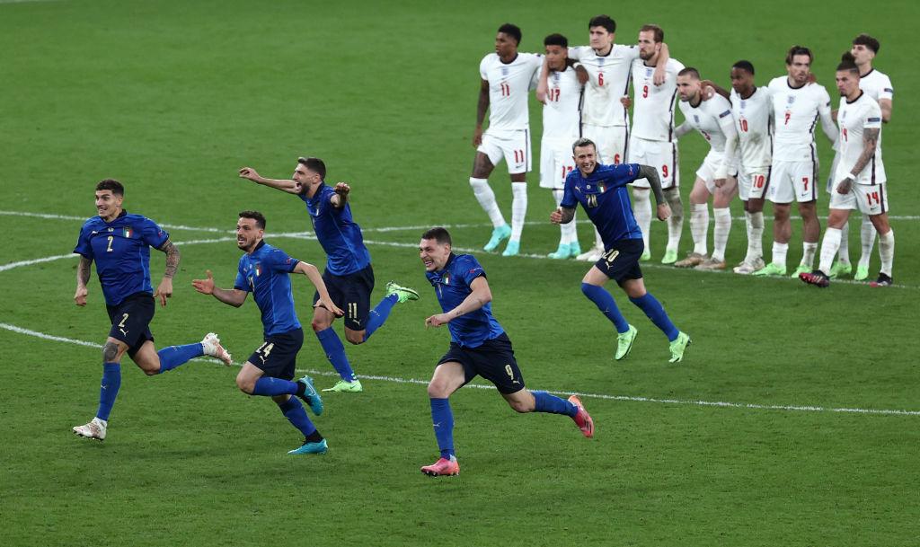 Guy predicted Euro 2020 Finals result Italy beats England shootout