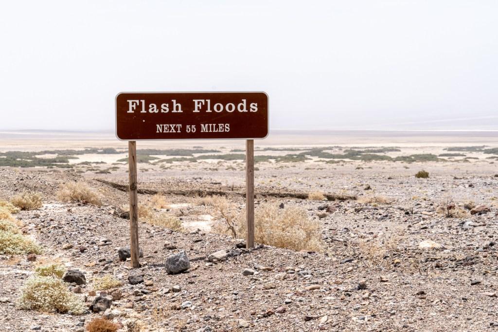 how flash flooding starts in the desert devastating footage viral video weather phenomenon