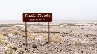 If You've Never Seen How A Flash Flood Starts In The Desert Then You Need To Check This Out