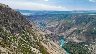 WILD Video Shows Glorified Porch Swing Snap Above 6,300 Foot Canyon In Russia, Women Walk Away With Minor Injuries