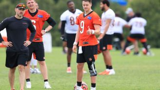 Joe Burrow Has A New Nickname Courtesy Of A Bengals Teammate, And It Has Something To Do With Aaron Rodgers