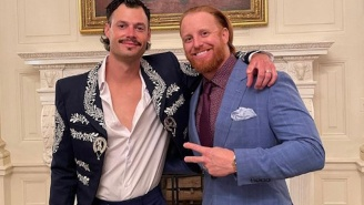 Dodgers' Pitcher Joe Kelly Wore A Mariachi Jacket To The White House