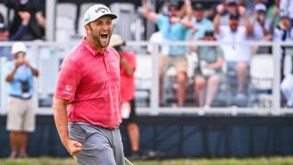 Jon Rahm Shares The Story Behind His 'Very Stupid' Celebration After Winning The U.S. Open