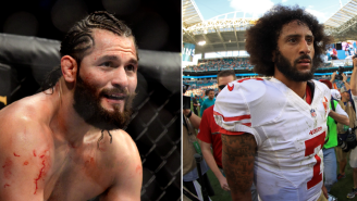 Cuban-American UFC Star Jorge Masvidal Calls Colin Kaepernick A 'Coward' For Once Wearing Fidel Castro Shirt