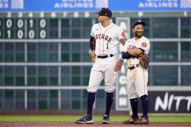 Carlos Correa and Jose Altuve are skipping the MLB All-Star Game, which is absolutely cowardly