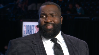 NBA Fans React To ESPN's Kendrick Perkins Struggling To Say Moses Moody's Name During The NBA Draft