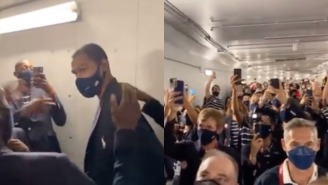 Entire Team USA Sings Happy Birthday To A Squirming Kevin Durant, Who Was Born On September 29