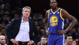 Kevin Durant (Once Again) Defends Himself On Twitter Against Steve Kerr Criticizing His Excessive Twitter Use