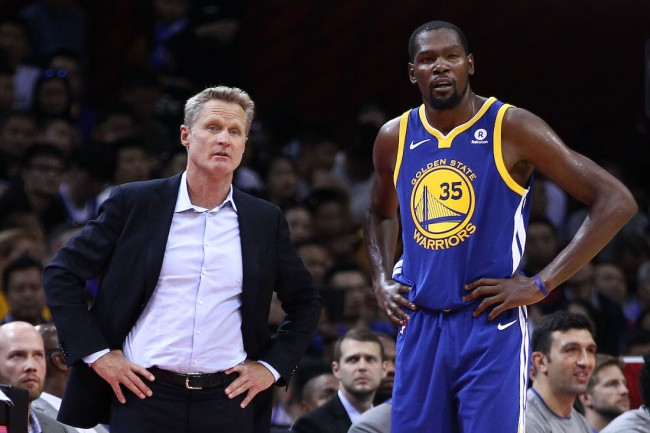 Brooklyn Nets star Kevin Durant responds to criticism from his former coach, Steve Kerr, regarding his excessive Twitter use