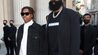 James Harden And Lil Baby Getting Shook By Paris Paparazzi Becomes Lovely Meme